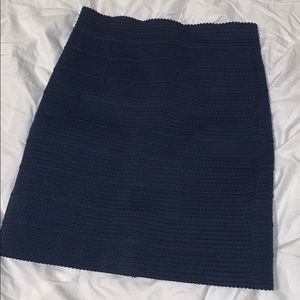 Charlotte Rouse stretchy blue high waist skirt